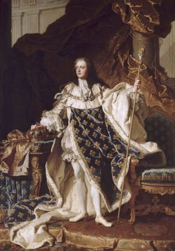 Louis XV (1710-1774), roi de France
