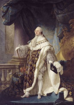 Louis XVI (1754-1793), roi de France et de Navarre, revêtu du grand costume royal en 1779
