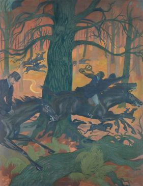 LaChasse infernale Maurice Denis (1870-1943)