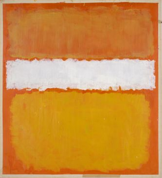 Marcus Rothkowitz dit Mark Rothko (1903-1970), Sans titre. 1969, peinture (acrylique sur papier), 116,7 × 106,2 cm. États-Unis d'Amérique, Chicago, The Art Institute of Chicago (Gift of the Mark Rothko Foundation, 1986.121)