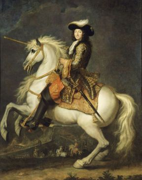 Louis XIV, roi de France, à cheval